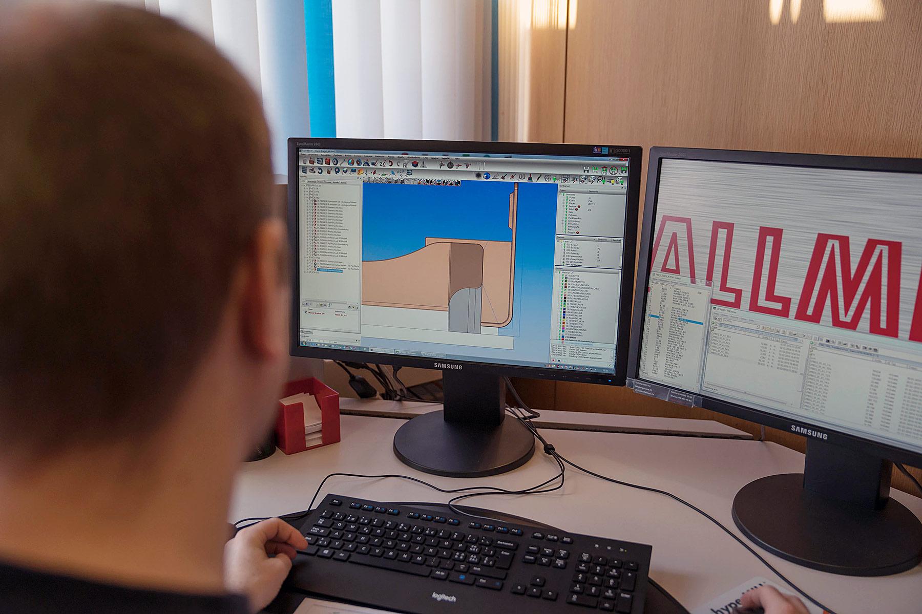 Entwicklung: von der Konstruktion bis zur Optimierung des Produktes